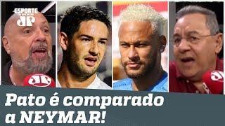 """""""Ele NÃO TÁ NEM AÍ!"""" Pato é comparado a Neymar, e debate FERVE!"""