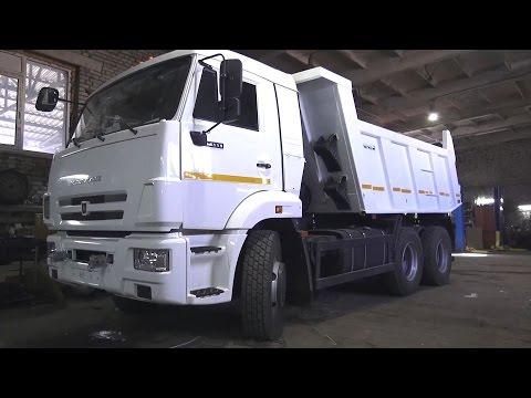 2017 КАМАЗ-65115 Самосвал. Обзор (интерьер, экстерьер, двигатель).