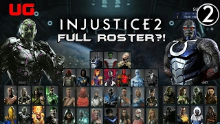 Injustice 2: Full Real Leaked Main Roster & DLC Predictions/Wishlist
