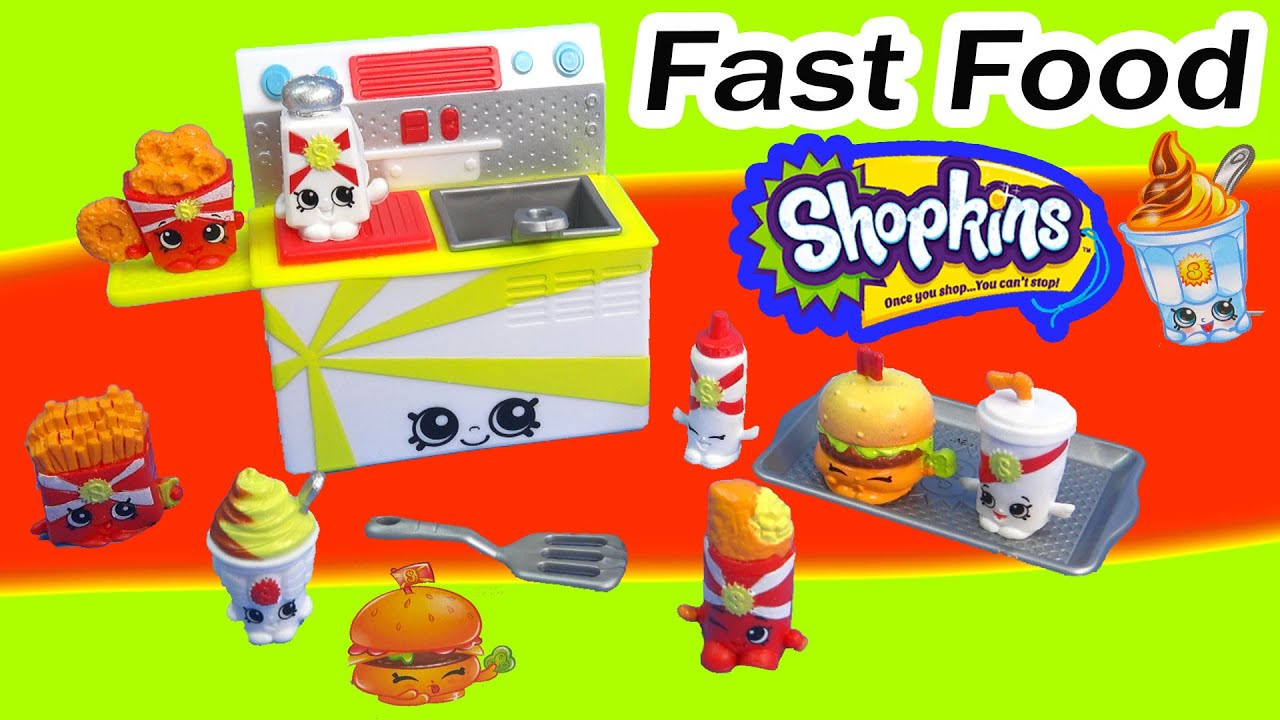 Fast Food Playset Shopkins