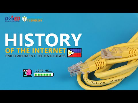 History of Internet - Empowerment Technologies K to 12