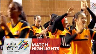 Netball match highlights: Singapore