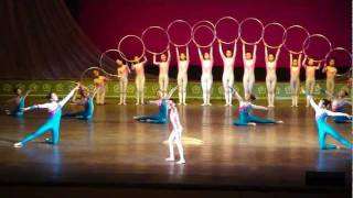 Incredible Hula Hoop Gymnastics Pyongyang North Korea 2011