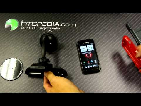 HTC Droid Incredible 4G LTE iBolt Charging Car Dock (fits w case)