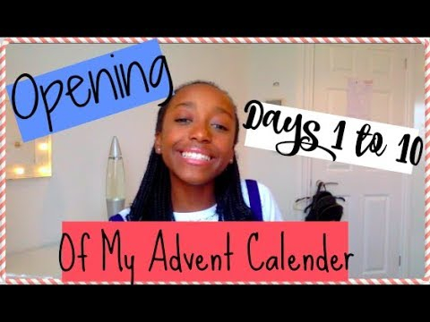 Collective 1 and 10 Advent Calander Opening!
