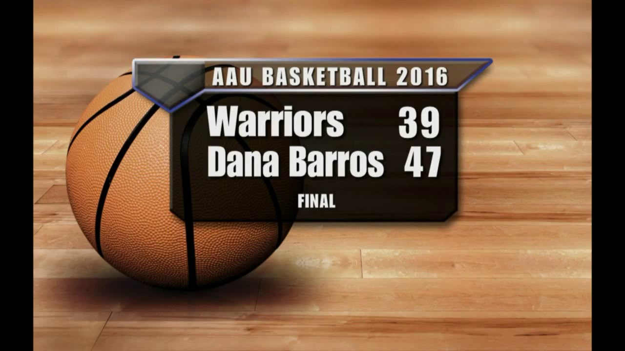 Warriors 2016 Dana Barros