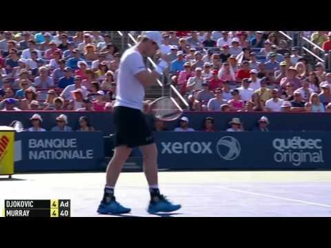 Andy Murray vs Novak Djokovic 2015 Highlights Montreal 2015 Final Highlights