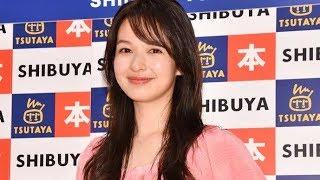 モデルの森絵梨佳が20日、都内にて、メイクカタログBOOK「森絵梨佳 100...
