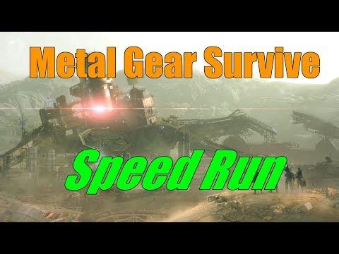 Metal Gear Survive Speed Run 4:31:40
