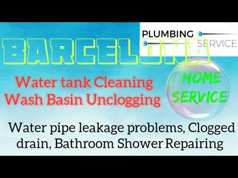 BARCELONA     Plumbing Services 》Plumber at Your Home ☆ Bathroom Shower Repairing ◇near me》Taps ● ■