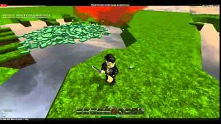 ROBLOX How to use Darksteel Katana of Ancient Illuminators