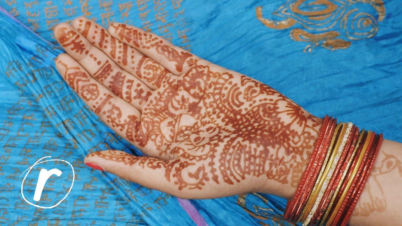 Experiencing Mehndi Indian Wedding Henna Hand Art Racked Youtube