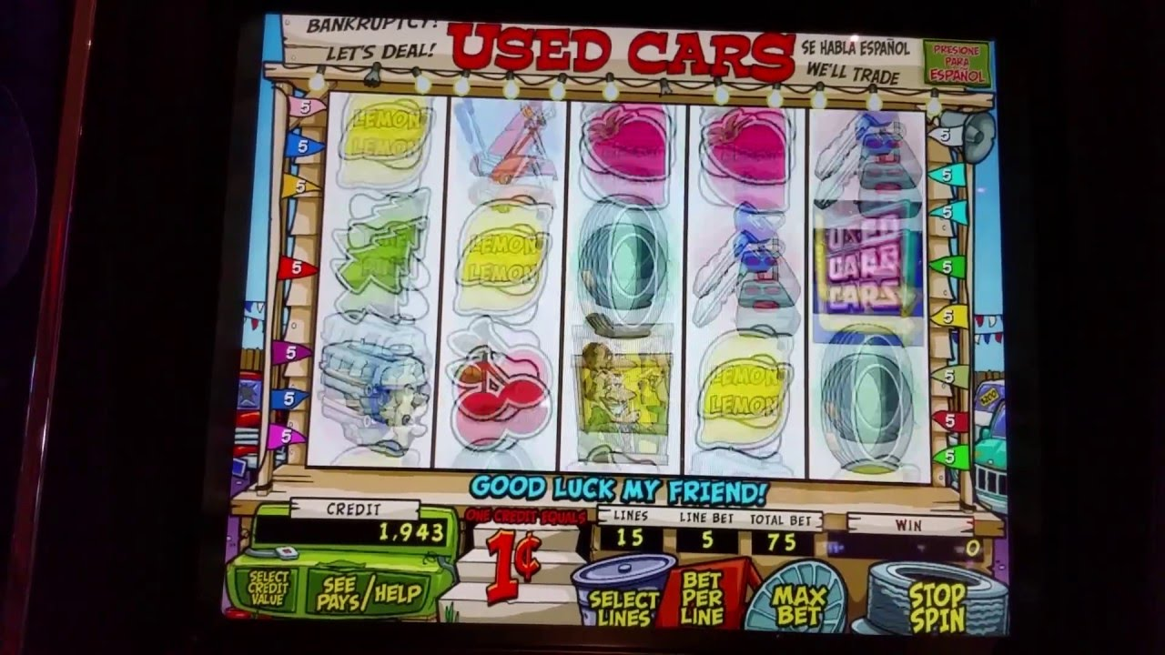 Slot Machine Used