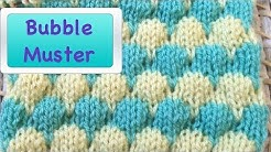 Bubblemuster stricken