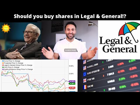 Should you buy shares in Legal and General!? (Stock analysis)