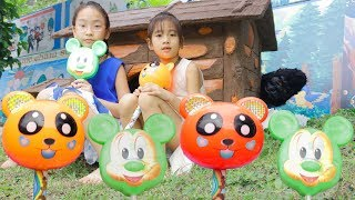 Learn Colors with Fingers Family Song for Kids Colorful Gummy Bear Lollipop Chupa Chups