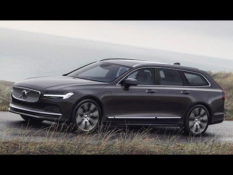 2020 Volvo V90 And V90 Cross Country Plug In Hybrid Youtube