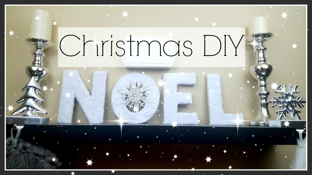 DOLLAR TREE DIY CHRISTMAS HOME DECOR | DOLLAR TREE & HOBBY LOBBY ...