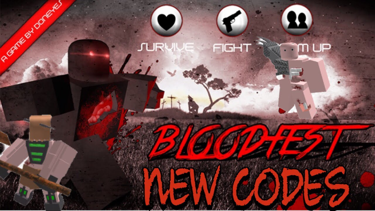 Bloodfest Codes Roblox July 2020 Mejoress