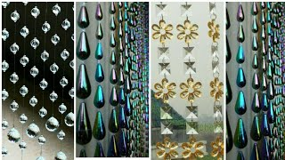 Dazzling Beaded Curtains, Amazing Classy curtains ideas