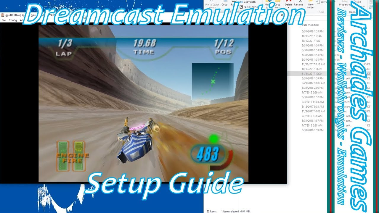 dreamcast emulator pc system requirements