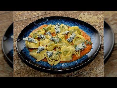 Tortelli ricotta e spinaci con Gorgonzola piccante – Video Ricette