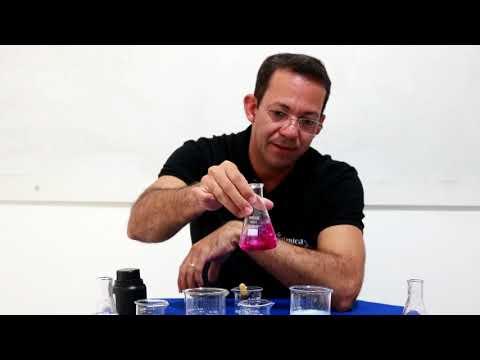 Química em Massa- Experiências -Teste do indicador fenolftaleína!