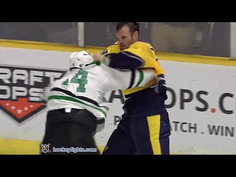 Jamie Benn vs Paul Gaustad Mar 1, 2016 - YouTube