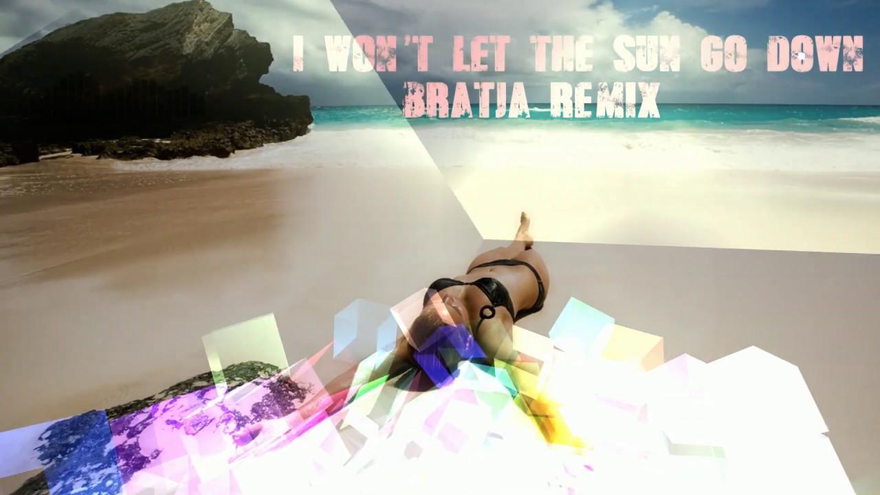 Robin Cook vs Nik Kershaw - I won't let the sun go down (bratja remix)