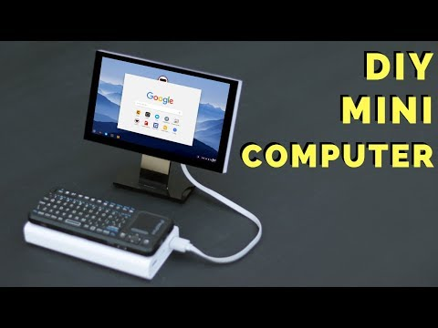 How To Make Mini Computer at Home - Mini PC Build