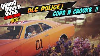 Thème de la Police pour le prochain DLC ? Policier Vs Voleur - Nouvelles voitures de Flics ?