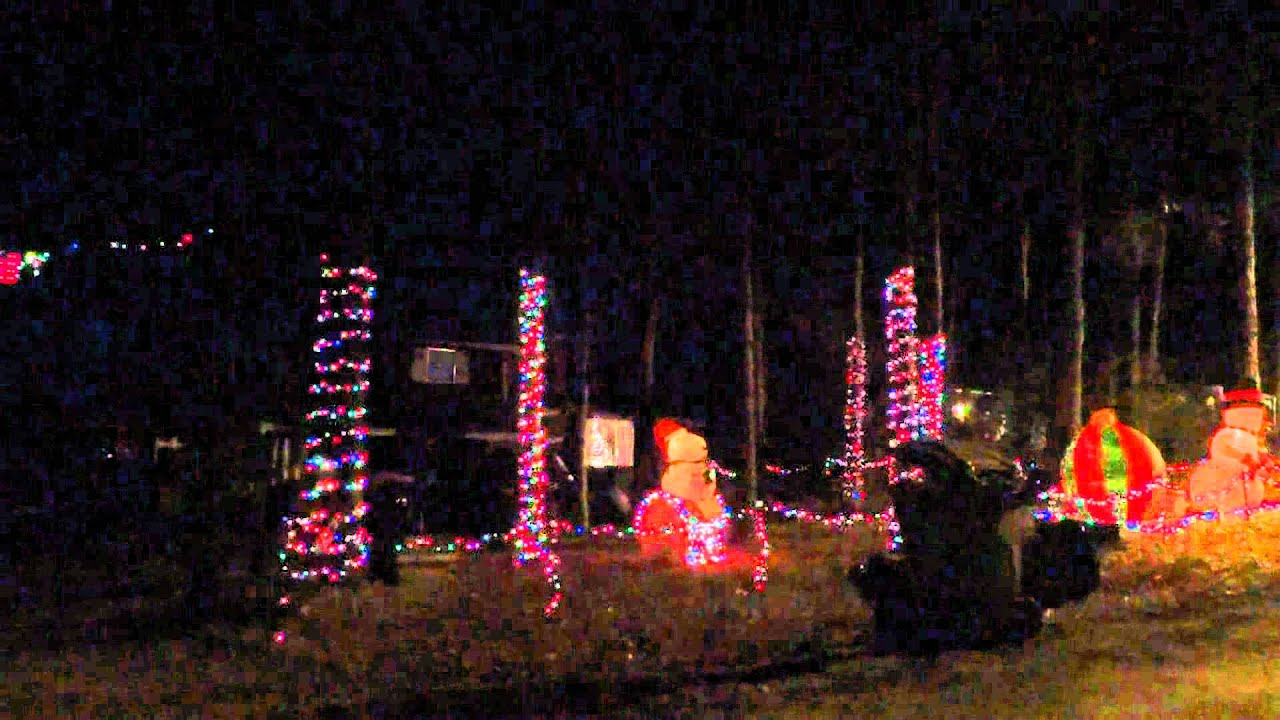 Christmas Lights Durham NC Michael Shoaf House Remix!!!! - YouTube