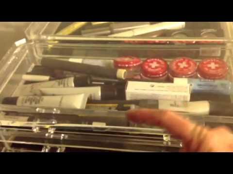 Tammy's makeup organization, Part One