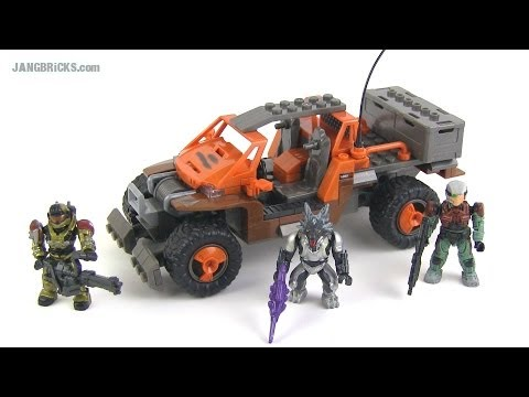 Mega Bloks Halo Spade vs. Skirmisher set 96981 review
