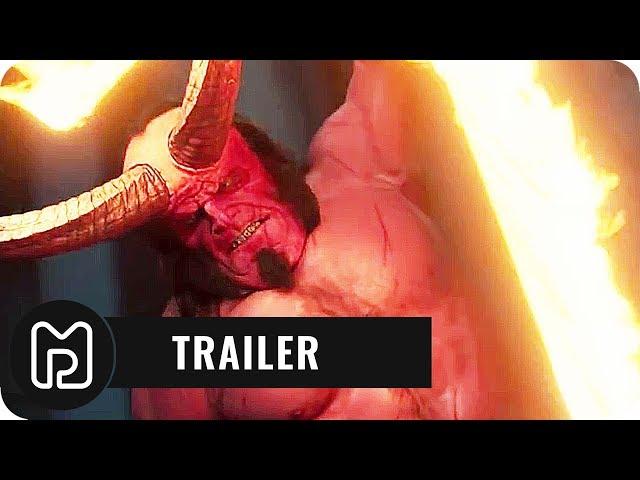 HELLBOY Trailer 2 Deutsch German (2019)