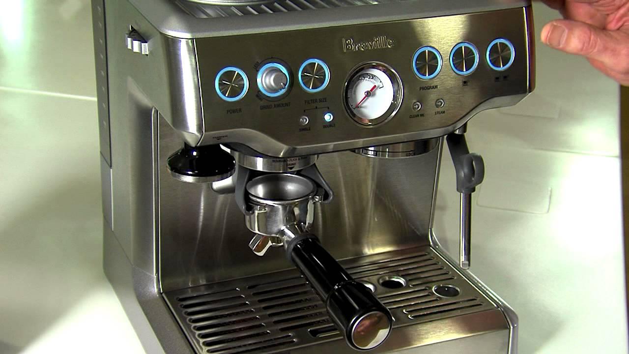 The Barista Express Espresso Machine BES870  YouTube