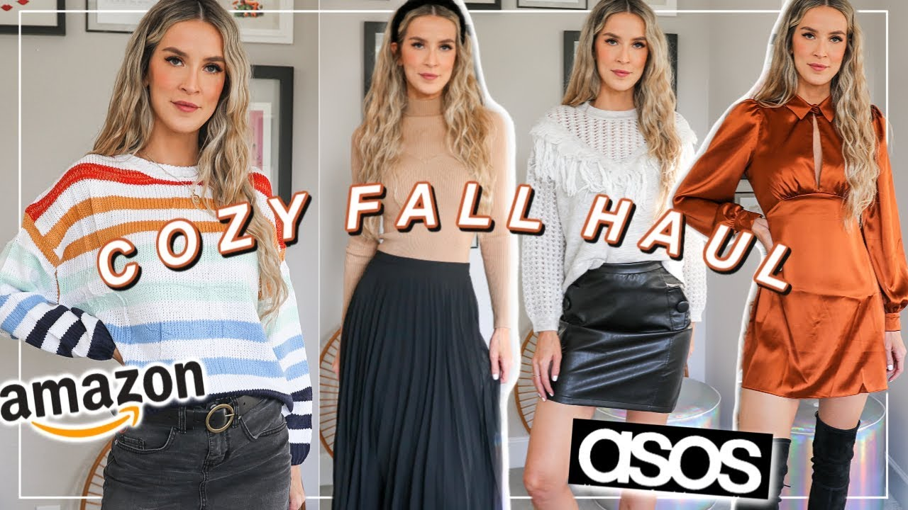 [VIDEO] - FALL TRY ON HAUL 2019 | AMAZON + ASOS COZY CLOTHES | leighannsays 3