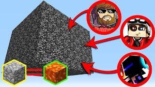 ВЫЖИВАНИЕ В КОРОБКЕ ИЗ БЕДРОКА В МАЙНКРАФТЕ! БУЛЫЖНИК ЭТО ЛАВА! Minecraft Survive in box