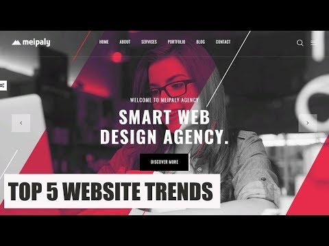 Top 5 Trending Website Design In 2019 || Top 5 Stunning CSS & Html Web Design
