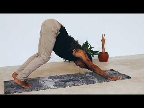 Intermediate Yoga Flow Class with Carlos Ramero in Bali