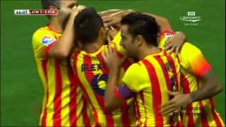 vuclip Atletico Madrid vs Barcelona 1 - 1 All Goals and Highlights [22.08.2013] [HD]