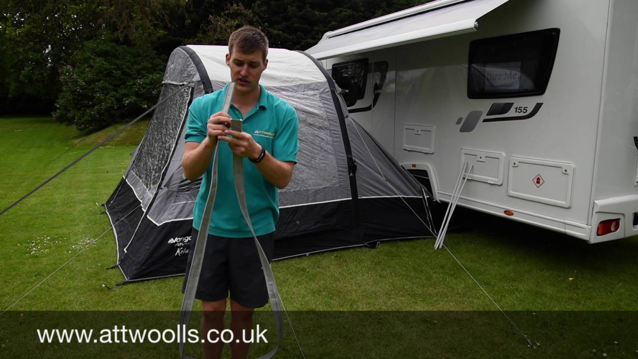 How To Attach A Drive Away Awning Youtube