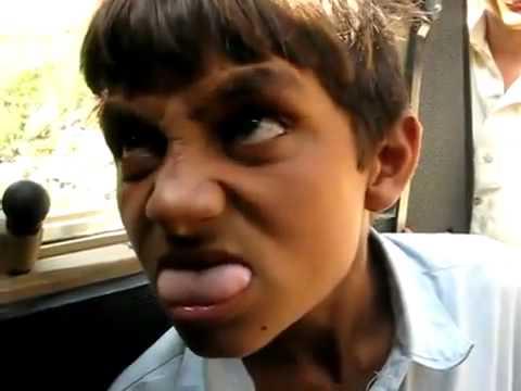 Funny Afghani boy abuse to USA soldier (aBRar)