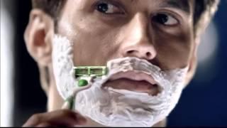 Gillette MACH3 Sensitive Razor Blades Commercial