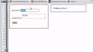 HTML5 Tutorial - 51 - Retrieving and Displaying Stored Data