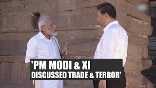 PM Modi & Xi discussed trade & threat from terrorism: Foreign Secretary