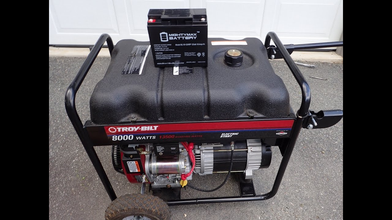medium resolution of  generator stator wiring diagram troy bilt 8000 watts generator model 030247 15hp b s engine new troy bilt generator