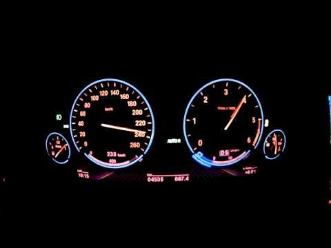 BMW 530d xDrive Limousine 258 PS (F10) Beschleunigung 0 - 255 kmh