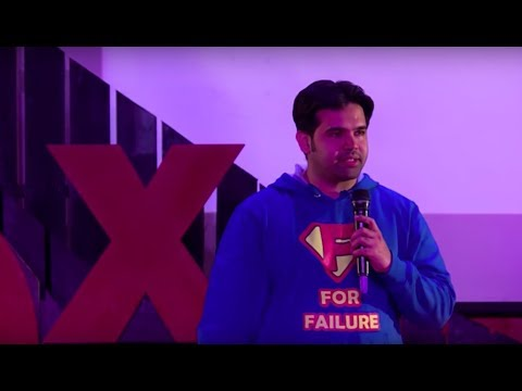 The Benefits of Failing Successfully | Jagdish Chaturvedi | TEDxAmityUniversity