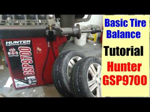 Hunter Tire Machine Model GSP9700 Tutorial
